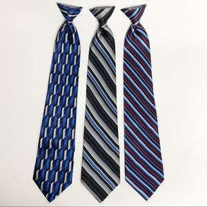 Stafford essential clip on ties